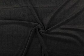80% katoen, 20% polyester - NB 3081-067 Nicky velours antraciet