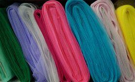 Voeren van een kledingstuk stoffen - Tule pakket XL 20 rollen x 40 meter