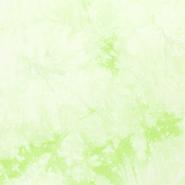 Viscose - NB20 13181-021 Viscose tie dye licht mint