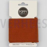 Roestbruin - ByPoppy20 6460-041 Boord/Manchet Cuffs roest