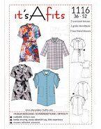 Naaipatronen - It's a fits 1116 oversized blouses