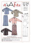 Naaipatronen - It's a fits 1114 blouse en rok