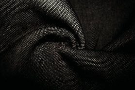 Meubelstof - BM 322228-C-X Interieur- en gordijnstof zwart