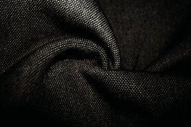 Zwarte meubelstoffen - BM 322228-C-X Interieur- en gordijnstof zwart