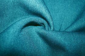 Polyester stof - BM 322228-T4-X Interieur- en gordijnstof turquoise