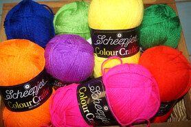 Brei- en haakgarens Colour Crafter - Colour Crafter brei- en haakgarens 8 bollen multi gekleurd