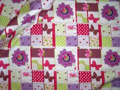Cotton for Kids Stoffe - Cotton for Kids Baumwolle Patchwork multi