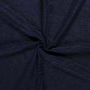 Leatherlook stof - NB 8800-008 Suedine donkerblauw
