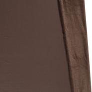 Goedkope fleece stof - NB20 14370-058 Alpenfleece donkerbruin