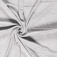 80% katoen, 20% polyester - NB 3081-063 Nicky velours grijs gemeleerd