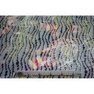 Stoffen uitverkoop - Ptx 960541-61 Rekbaar kant fantasie multi