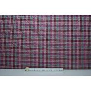 Geruite stof - Ptx 966501-41 Katoen ruit paars