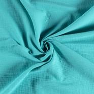 Hydrofiel stoffen - NB 3001-004 Hydrofielstof uni turquoise