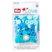 Drukknopen* - Prym Love drukknopen blauwtinten (393.000)