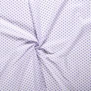 Lila - NB 5572-043 Katoen balletjes lila op=op