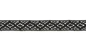 Spitzenband* - XLA12-569 Spitzenband schwarz 20mm
