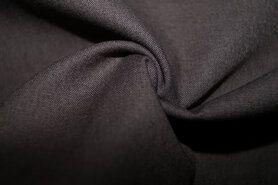 Stoffen uitverkoop - KN 0150-980 Katoen donkergrijs