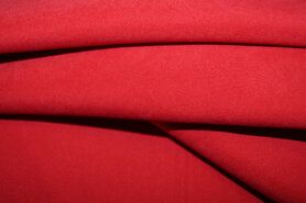 100% polyester - NB 3660-16 Suede-achtig rood