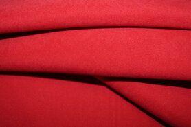 Kunstleer en suedine - NB 3660-16 Suede-achtig rood