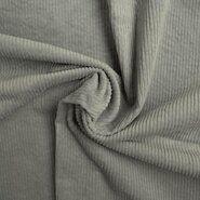 Neopreen stof - KN20/21 0779-320 Ribcord stretch oudgroen