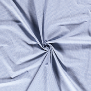 Lakenkatoen - NB 5581-006 Boerenbont mini ruitje blauw 0.2 cm