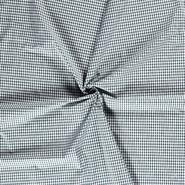 Lakenkatoen - NB 5582-028 Boerenbont ruit donkergroen 0.4 cm