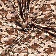 Braun - NB20/21 14428-051 Jersey camouflage ecru/braun