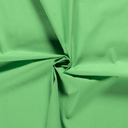 Stof op rol - NB 3121-125 Lakenkatoen groen