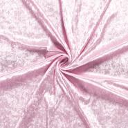 100% polyester - NB 5666-011 Velours de panne lichtroze