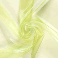 100% polyester - NB 4858-030 Organza lime