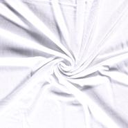 Handdoek stoffen - NB 14533-050 Badstof van 40% Bamboe wit