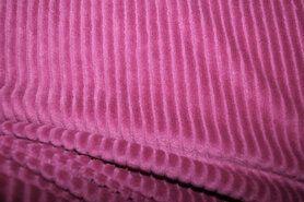 95% polyester, 5% elastan - KN20/21 0729-875 Tricot Cordurroy fuchsia