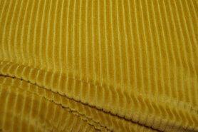 Gelb - KN20/21 0729-312 Jersey Cordstoff gelb