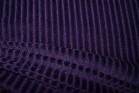 Weiche - KN 0729-800 Jersey corduroy dunkelblau