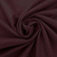 Leatherlook stof - KN20/21 0541-440 Unique leather bordeaux