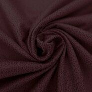 Rote Stoffe - KN20/21 0541-440 Unique leather bordeaux