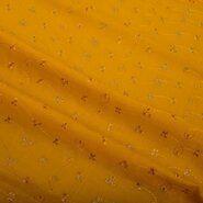 Interieurstoffen - KN 0157-584 Broderie geel