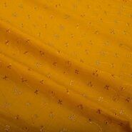 Stoffen Babykamer - KN 0157-584 Broderie geel