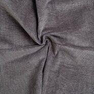 Ribcord en velvet - KN20/21 0779-975 Ribcord stretch muisgrijs