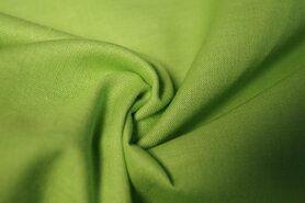 Stoffe Ausverkauf - KN 0150 - 315 Baumwolle apfelgrün