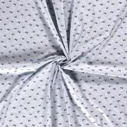 Mondkapjes paneel - NB20/21 Dapper 15566-003 Katoen vliegtuigjes babyblauw