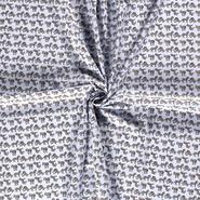 Mondkapjes paneel - NB20/21 Dapper 15570-003 Katoen zebra babyblauw