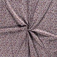 Lichtgrijs - NB 14706-061 Kerst katoen kerst motief lichtgrijs