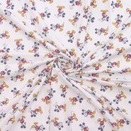 Polytex stoffen - Ptx 669101-21 Katoen Disney Mickey Mouse off-white