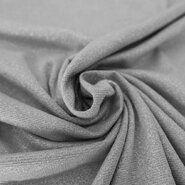 KnipIdee Stoffe - KN20/21 7712-950 Jersey lurex melange silber