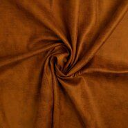 Polyester stof - KN20/21 17120-570 Scuba suede leather camel