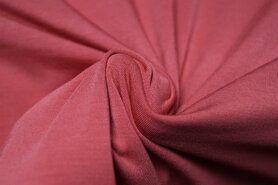 Alle seizoenen stoffen - KN 0781-540 Tricot Pure Bamboo blush