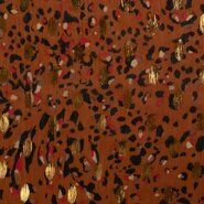 Najaar - KN20/21 17461-445 Chiffon foil african leo terra