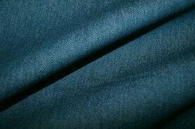 Spijkerstoffen - NB 3928-024 Jeans stretch petrol