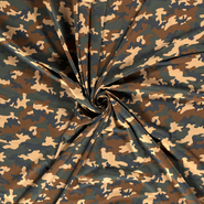 Leger motief - NB21 14428-027 Tricot camouflage camel